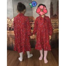 Платье с бантом