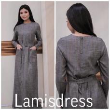 Платье базовое с карманами
